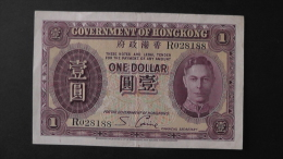 Hongkong - 1 Dollar - 1936 - P 312 - VF+ - Look Scan - Hongkong