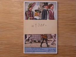LES GEANTS 308  Liebig Série Complète De 6 Chromos Trading Cards Chromo - Liebig