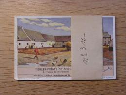 VIEILLES FERMES DE BELGIQUE 310  Liebig Série Complète De 6 Chromos Trading Cards Chromo - Liebig