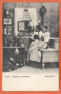 X066, Cherchez L'amoureux, 12074, Ueberrascht !, Circulée 1909 - Humour