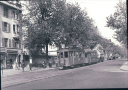 Tramways Balois, Basel Hüningerstrasse, Photo 1959, BVA, BVB 197.2 - BS Bâle-Ville