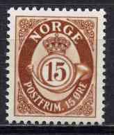 Norge - Norway 1950 | Mi. 354  ** MNH | Posthorn - Unused Stamps