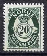 Norge - Norway 1950 | Mi. 355  ** MNH | Posthorn - Unused Stamps
