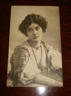 Lina Cavalieri Sexy Showing Breast  Actress Opera Stage Vintage Original Photo Postcard Carte Postale Cpa Ak (W3_2565) - Donne