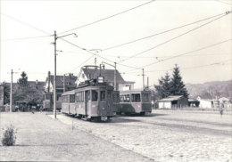 Tramways Balois, Basel Surbaum, Photo 1960, BVA, BVB 197.7 - BS Bâle-Ville