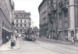 Tramways Balois, Basel Schifflände, Photo 1959, BVA, BVB 197.10 - BS Bâle-Ville