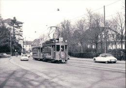 Tramways Balois, Basel Münchensteinerstrasse, Photo 1968, BVA, BVB 156.2 - BS Bâle-Ville