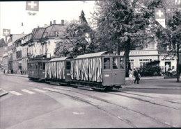 Tramways Balois, Basel, Photo 1960, BVA, BVB 156.10 - BS Bâle-Ville