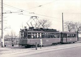 Tramways Balois, Basel Münchensteinerstrasse, Photo 1968, BVA, BVB 155.7 - BS Bâle-Ville