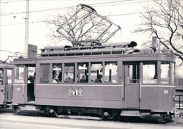 Tramways Balois, Basel Münchensteinerstrasse, Photo 1968, BVA, BVB 155.8 - BS Bâle-Ville