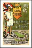 ITALIA CARPI (MO) 2008 - INAUGURAZIONE MONUMENTO DORANDO PIETRI - MARATHON - OLYMPIC GAMES LONDON 1908 - Summer 1908: London