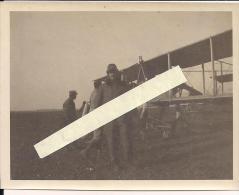 Moreuil Somme Aviation Pilote équipé 1916 Vue Française  WWI Ww1 14-18 1.wk 1914-1918 Poilus - Guerre, Militaire