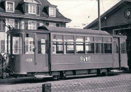 Tramways Balois, Basel Münchensteinerstrasse, Photo 1968, BVA, BVB 155.10 - BS Bâle-Ville
