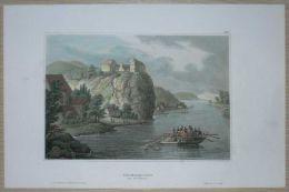 1844 Meyer Print WACKERSTEIN, NEAR PFÖRRING, BAVARIA - Autres Collections