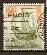 Spain Edifil # 1600 (o) Carraca Barcos / Ships - 1931-Hoy: 2ª República - ... Juan Carlos I