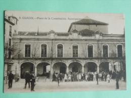 GUADIX - Plaza De La Constitucion, Ayuntamiento - Espagne