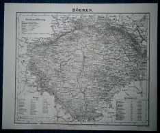 1848 Sohr Berghaus Map BOHEMIA CZECH LANDS (#13) - Other Collections