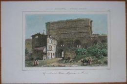 1851 Print PORTA MAGGIORE, ROME (#80) - Altre Collezioni