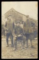 AK 3940 Deutsche Soldaten 1 WK ,1.Bayer.Jäger Batl.,2.Bayer.Res.Jäger Batl.,Masch.Gew.Komp.gel.1918 FP - War 1914-18
