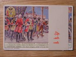 TENTATIVES D´ EXPANSION COLONIALE BELGE 411 Liebig Série Complète De 6 Chromos Trading Cards Chromo - Liebig