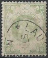 GRANDE-BRETAGNE - 1 S. Vert Oblitéré - 1840-1901 (Regina Victoria)