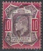 GRANDE-BRETAGNE - 10 P. TTB Oblitéré - 1902-1951 (Re)