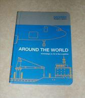 Livre Book Manuel Logistique Around The World Autour Du Monde Lexique Du Transport En Anglais - Pratique