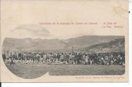 BOLIVIE - Ejercicios De La Escuela De Clases En Caiconi - Al Este De La Paz - Bolivia