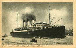 AK S.D. Cap Polonio Ca. 1925 (?) SD Schiff Dampfer Hamburg Südamerika - Paquebots
