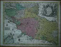 Ca.1744 Seutter Map PAPAL STATES AND TUSCANY - Andere Verzamelingen