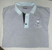 Tee Shirt  Gris De Golf NUNI La Grange Aux Ormes Pub Manches Banque Kolb Et Conseil Rég. Lorraine - Apparel, Souvenirs & Other