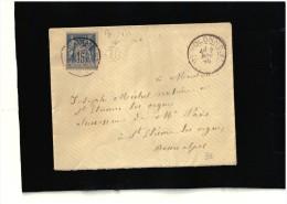 """BOITE RURALE  """"B""""  PEIPIN  VOLONNE  BASSE ALPES - Marcophilie (Lettres)"""