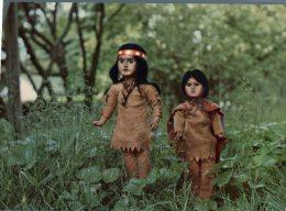 (320) American Indial Doll - Poupée Americaine Indienne - Jeux Et Jouets