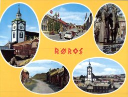 (124) Norway Postcard - Roros (see Front And Back) - Norway