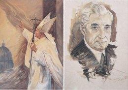 "Lot 20 Postcards ""Painting"" - Master Adelino Angelo (Português) - Cartes Postales"