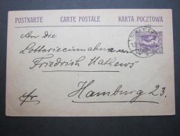 1920, SCHARLEY, Stempel Auf Karte - Germany