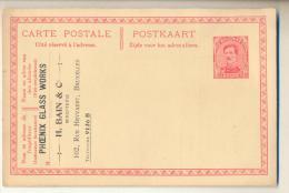Pk318: 10cy Postkaart :  PHOENIX GLASS WORKS Bruxelles... - Otros