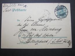 1905, Feldpostkarte Nach Leutnant  In Lüderitzbucht - Colony: German South West Africa