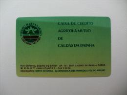 Bank/Banque/Banco Caixa De Crédito Agricola Mutuo De Caldas Da Rainha Portuguese Pocket Calendar 1993 - Tamaño Pequeño : 1991-00