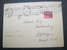 1923, Firmenbrief Aus Berlin - Germany