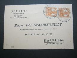 1919, Mehrfachfrankatur Aus  Cossmannsdorf Nach NL - Germany