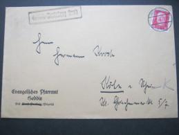 1930, SEDDIN - Perleberg Land, Landpoststempel Auf Brief - Germany