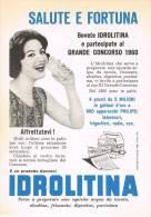 Advertising Pubblicità  IDROLITINA GAZZONI-RITAGLIO DA RIVISTA D´EPOCA(13,5x19)- - Reclame