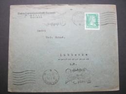 1928 Firmenlochunf , Perfin, Brief Aus Bremen - Germany