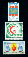 EGYPT / 1988 / MEDICINE / WHO / UN'S DAY / RED CROSS / RED CRESCENT/ HUMAN RIGHTS / MNH / VF - Egypt