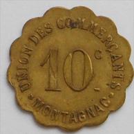Hérault 34 Montagnac , 10 Centimes Elie 10.2 - Monetary / Of Necessity