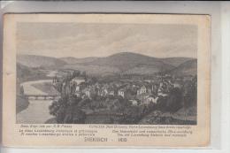 L 9200 DIEKIRCH, Historische Ansicht V. 1835, Huss-Lux. 1926, Brfm. Fehlt, Kl. Einriss - Diekirch