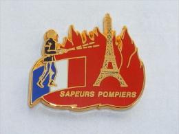Pin's SAPEURS POMPIERS DE PARIS  41 - Pompiers