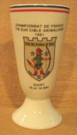 MAZAGRAN TIR A L�ARC CHAMPIONNAT DE FRANCE TIR SUR CIBLE ANIMALIERE 1991 CLUB DES ARCHERS DE GUIRY VAL D'OISE / LIMOGES