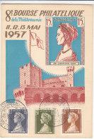 Grace Kelly - Monaco - Carte Maximum De 1957 - Maximum Cards